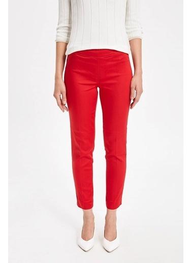 DeFacto Valentina Cigarette Pantolon Kırmızı